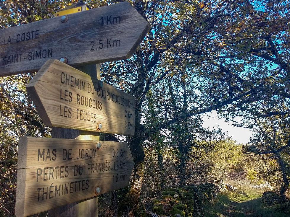 Sur les chemins de randonnée du Lot