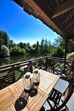 Découvrir la Dordogne depuis la terrasse du Balcon à Carennac