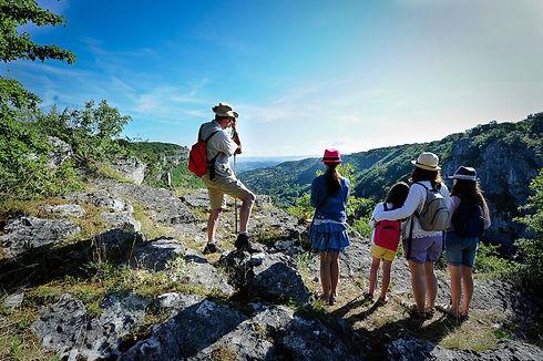 Randonnee accessible à tous en Vallée de la Dordogne