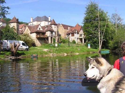 La Dordogne, Carennac et les Terrasses de Carennac