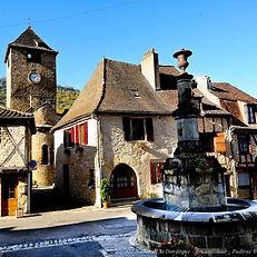 Autoire et cascade un des plus beaux villages de France