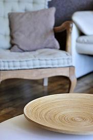 Confort et matériaux nobles pour une décoration authentique des Terrasses de Carennac