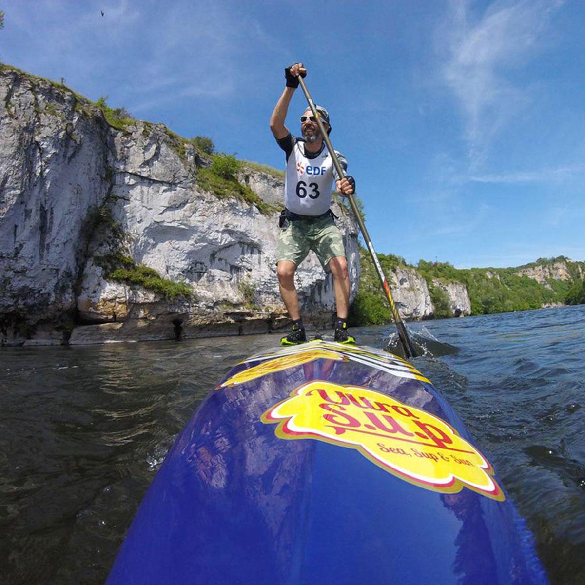 Location de paddle pour une descente rafraichissante