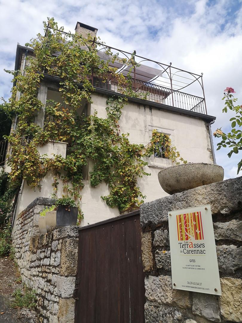Gîtes de charme Les Terrasses de Carennac.