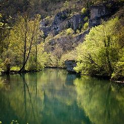 La Dordogne rivière sauvage et secrète
