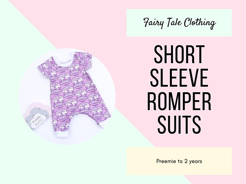 Short Sleeve Romper Suits