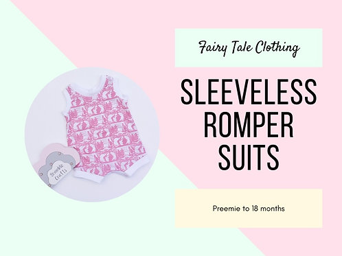 Sleeveless Romper Suits