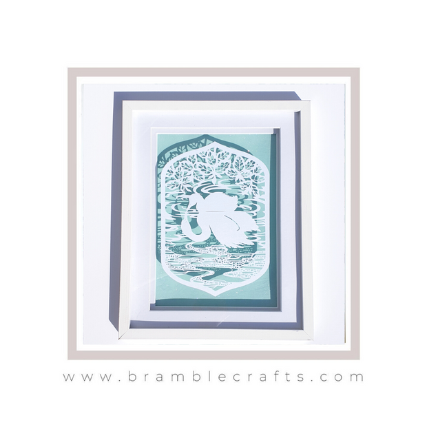 Paper cutting templates Bramble Crafts