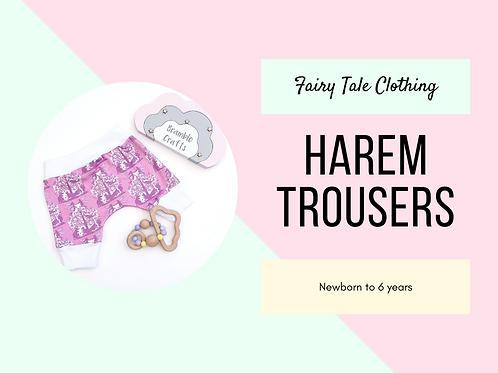 Harem Trousers