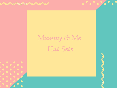 Mummy & Me Crochet Hat Sets