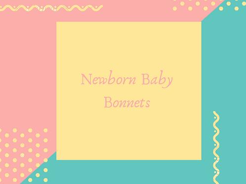 Newborn Baby Bonnet
