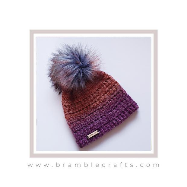 Crochet Hat Bramble Crafts
