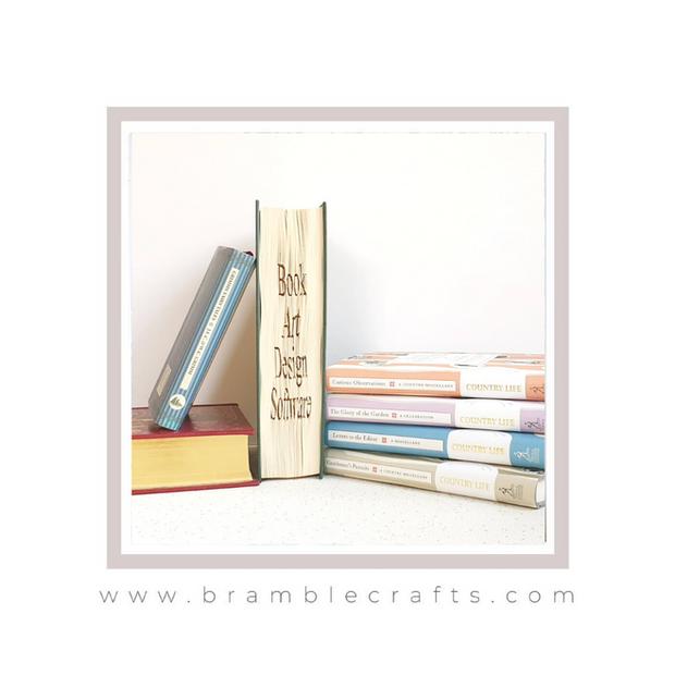 Book folding software Bramble Crafts