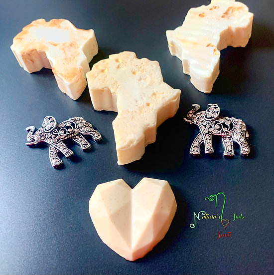 Ivory & Gold Cashmere Soap