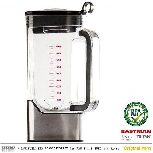 Beholder Raw F2 BPA fri komplett 2 liter