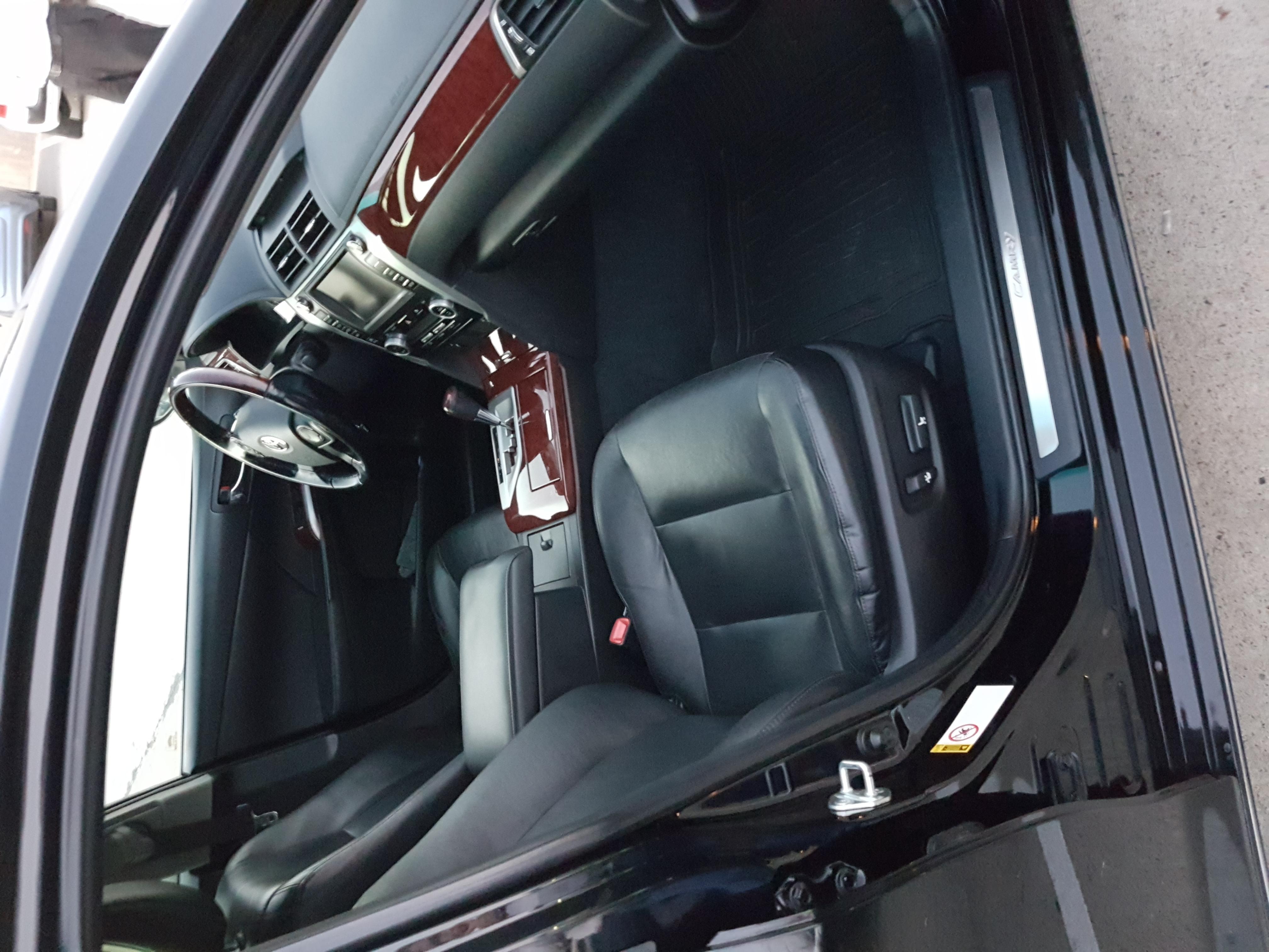 прокат с водителем камри цена