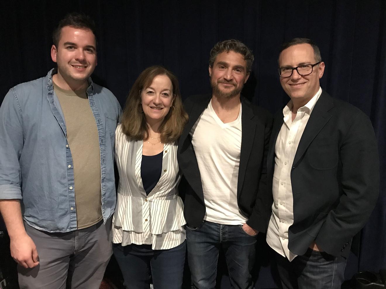 Brett Kopin (co-screenwriter), Beth Kopin (executive producer), Greg Ferkel (story by), Daniel Alcheh (composer).