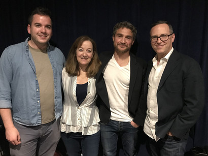 Brett Kopin (co-screenwriter), Beth Kopin (executive producer), Greg Ferkel (story by), Daniel Alcheh (composer).