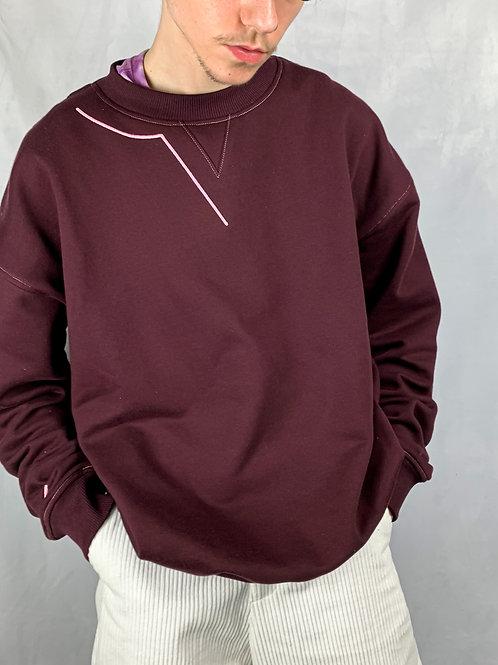 Grape Zou Kozi Crewneck Sweatshirt