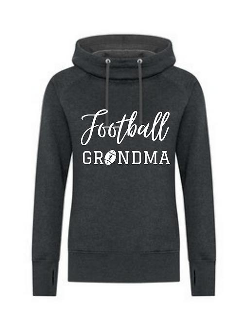 SF FOOTBALL GRANDMA LOGO LADIES HOODIE
