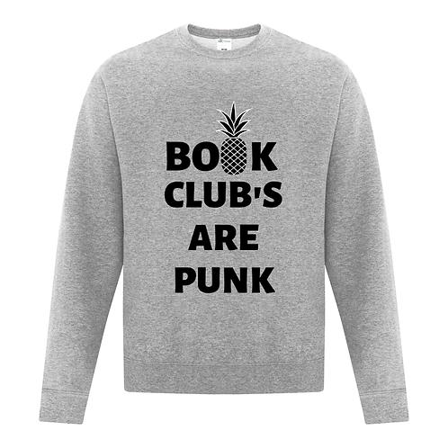 BOOK CLUBS ARE PUNK CREWNECK ATCF2400