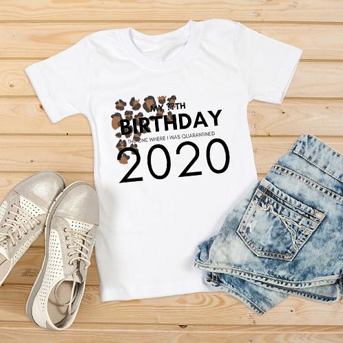 LEOPARD PRINT MY BIRTHDAY 2020