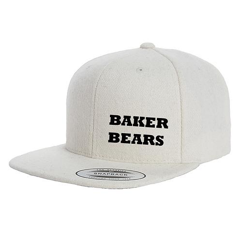 BAKER BEARS Melton Wool Snapback YU6689