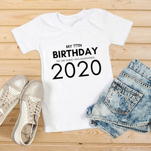 MY BIRTHDAY 2020