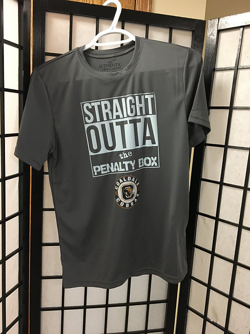 CMHA Youth Straight Outta the Penalty Box Tshirts