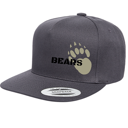 Baker Flat Brim with BEAR CLAW YU6007