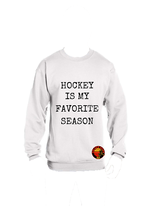 GS Hockey is My Favorite Season Crewneck S600