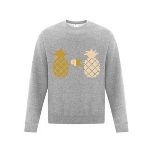 Set of Pineapple Knockers Crewneck