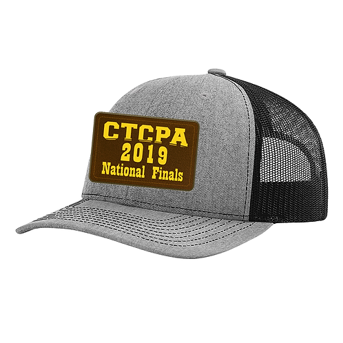 CTCPA Trucker Cap R112 with Leather Patch