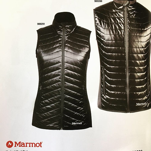 Marmot Men's and Ladies puffer vests