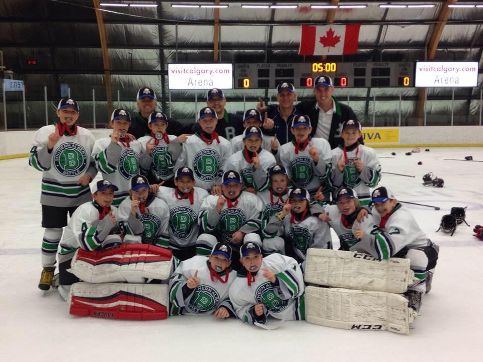 Spring hockey team