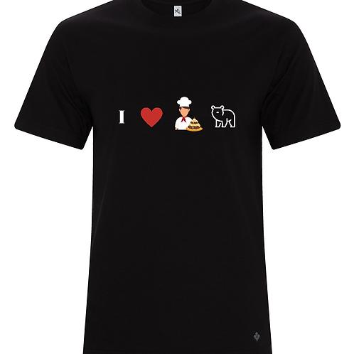 I HEART BAKER BEARS Tshirt KOI8060