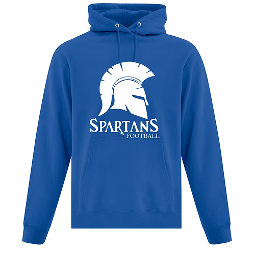 Adult Spartans Cotton Blend Hoodie ATCF2500