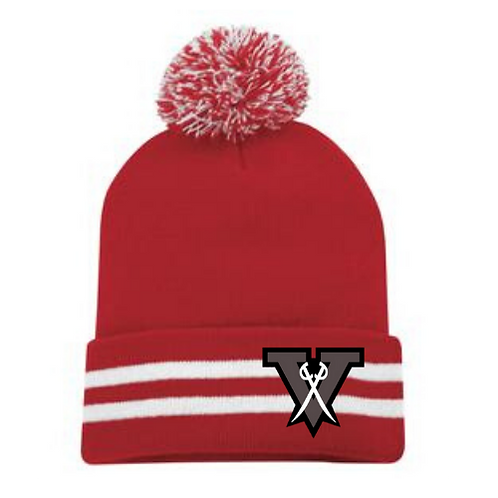 VS POM POM KNIT TOQUE