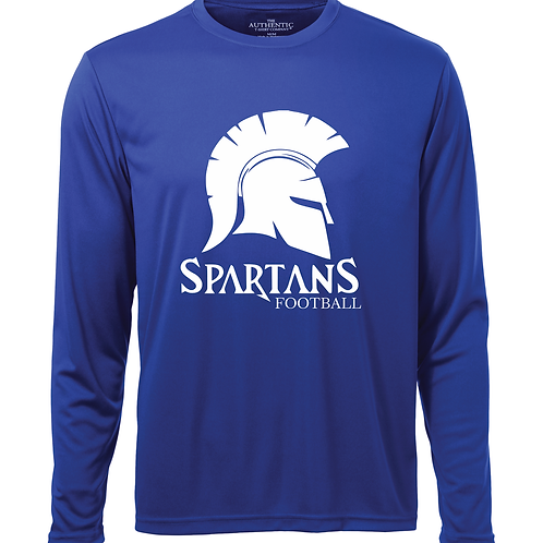 Youth Spartans Pro Team Long Sleeve