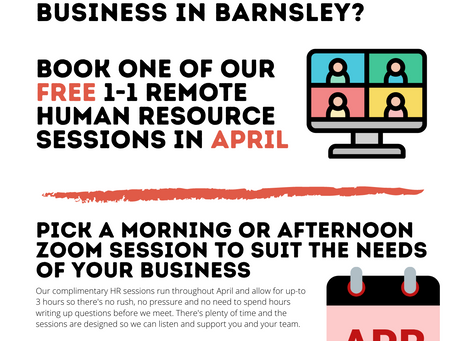 Free HR Sessions For Local Business