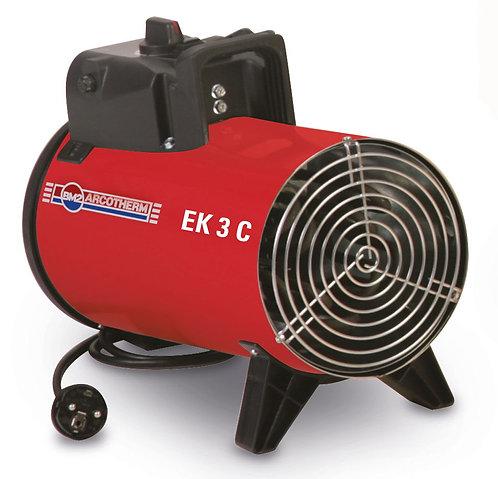 3 KW  230 Volt EK 3C Elektrikli Isıtıcı