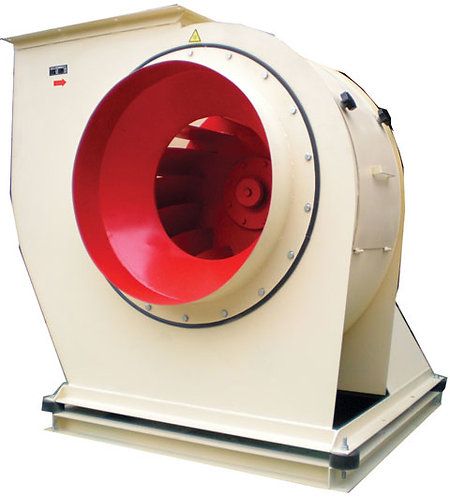 8000 m3/h 600 Pa Endüstriyel Radyal Fan
