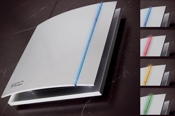 26 dBASessiz Banyo Fanı SILENT100CZ SILVER Design