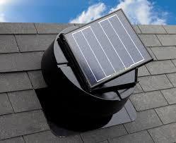 Güneş Enerjisi ile Çalışan Fan - Çatı Alanı 100m2