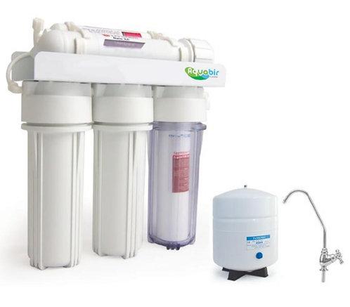 AQUABIR 5AWOP POMPASIZ Evsel Tezgah Altı Ters Ozmoz Su Arıtma Cihazı