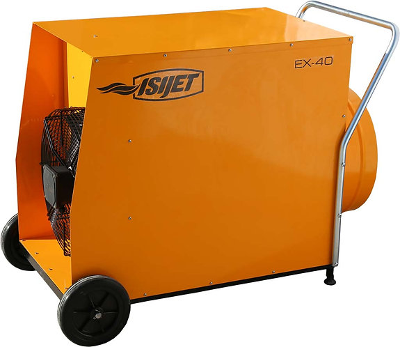 15 20 30 40 KW MOBIL END FANLI ISITICI - ISIJET EX