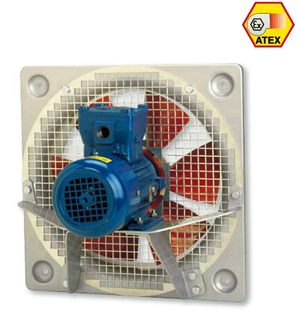 8000 m3/h Duvar Tipi ATEX Belgeli Exproof Fan