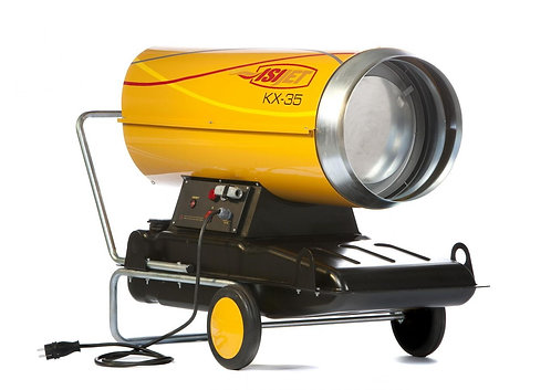 KX Serisi BACASIZ Sıvı Yakıtlı Mobil Isıtıcılar