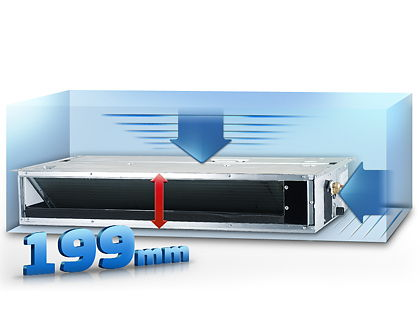Samsung VRF (DVM S) Ducted Slim (LSP