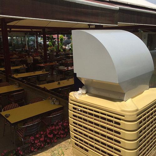 20.000 m3 Inverter Yuksek Kapasiteli Mobil/Sabit Sulu Sogutucu Serinletici